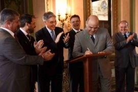 Governador autoriza doação de terreno para Conselheiro Lafaiete